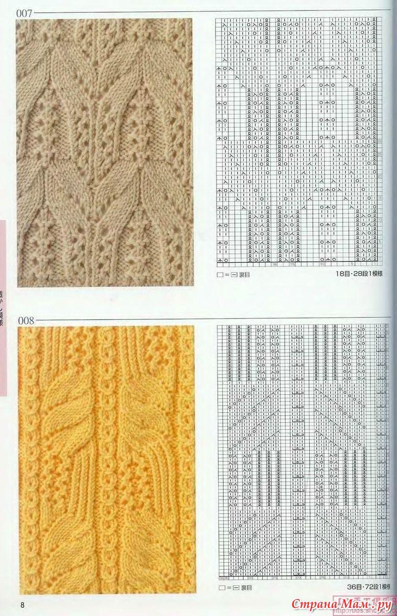 вязание спицами для женщин для начинающих с простым узором бантики